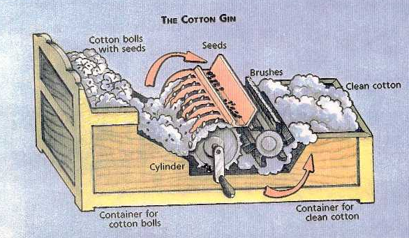 sc history 8th grade project licensed for non commercial use only  : cotton gin diagram - findchart.co